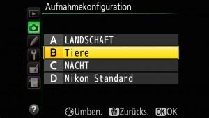 D810: Aufnamebank