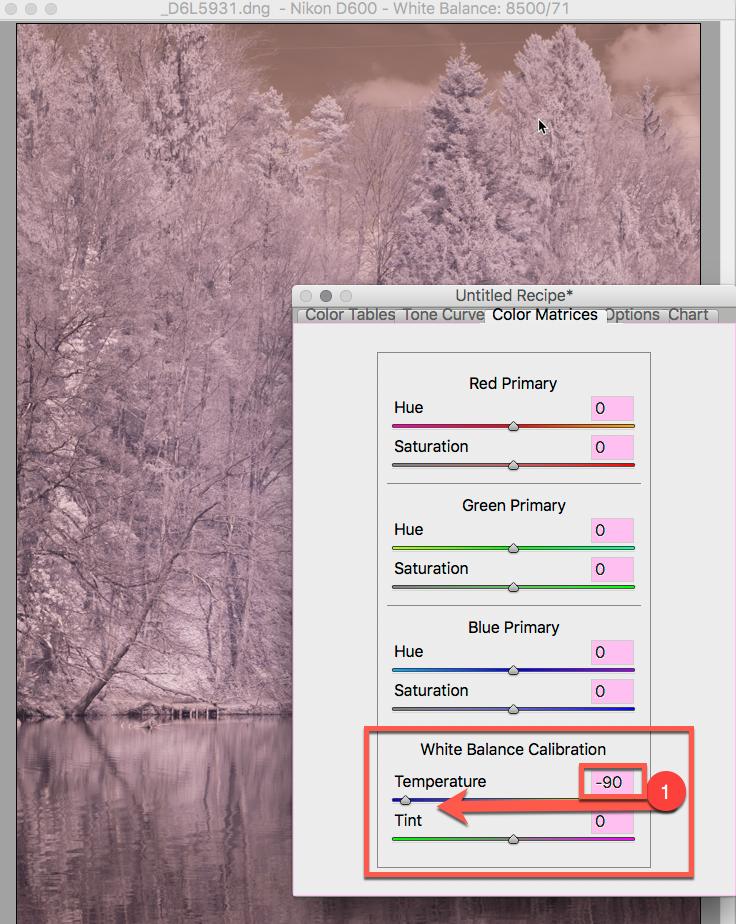 DNG Profil Editor-Image öffnen