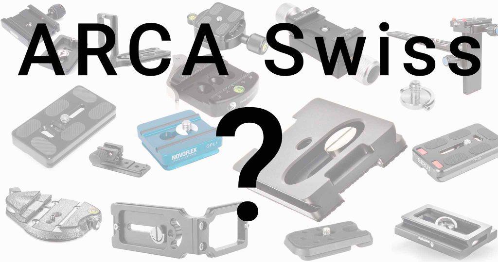 ARCA Swiss - UniQ/C - Name und No Name kompatible Schnellkupplungen