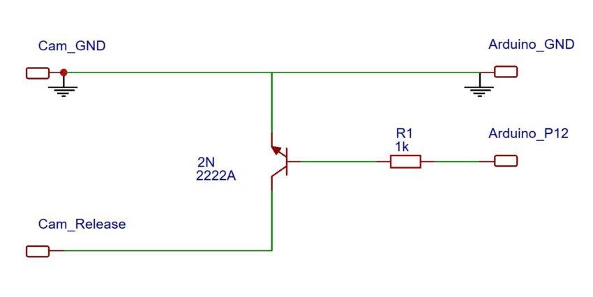 Schaltplan LRTimelapse Pro Timer