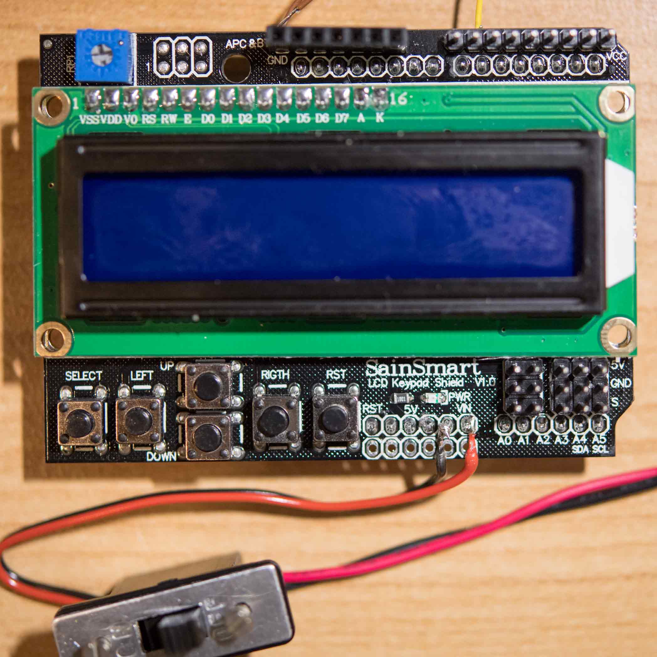 Arduino Uno 3 Intervalometer \