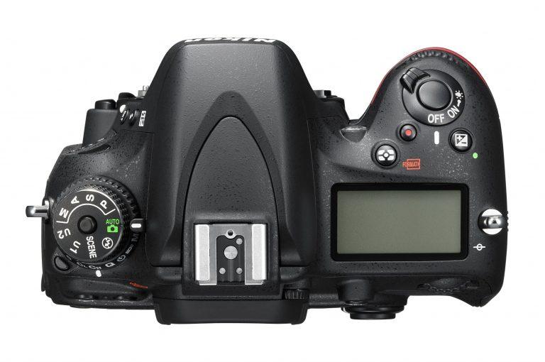 Nikon-D600 Top View