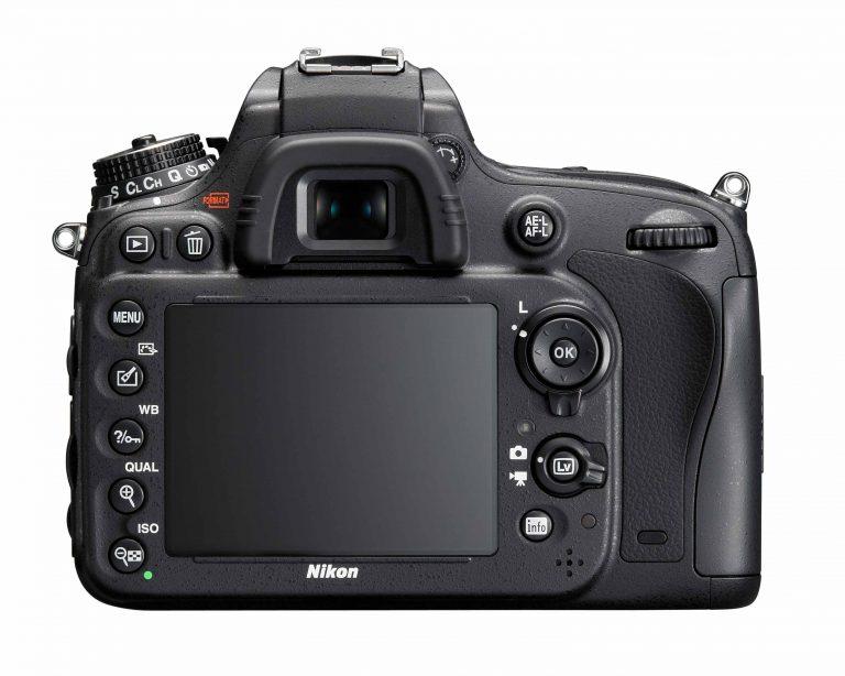 Nikon-D600 Back View