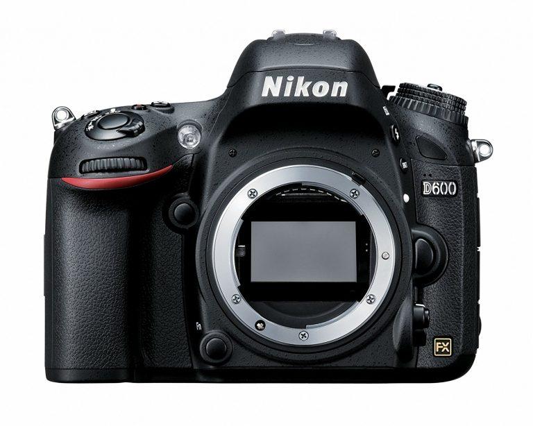 Nikon-D600 Front View