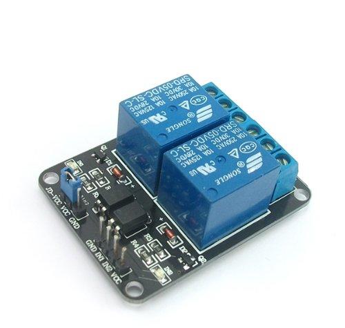 SainSmart 2-Kanal 5V Relais Modul für Arduino