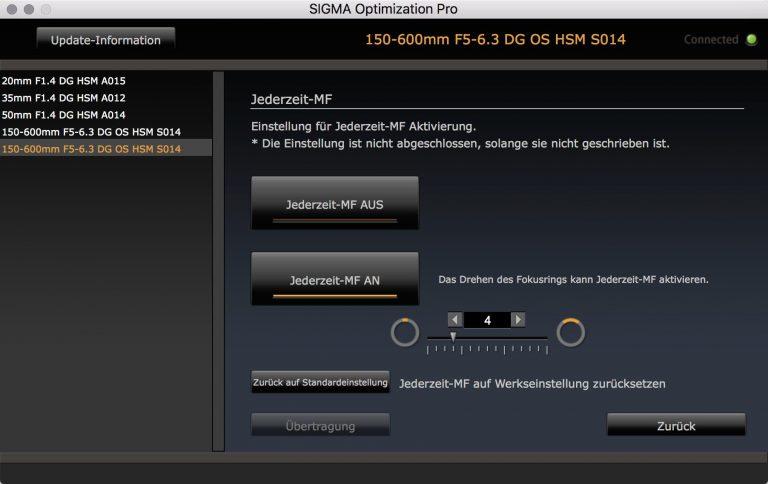 SIGMA USB Dock – Jederzeit MF