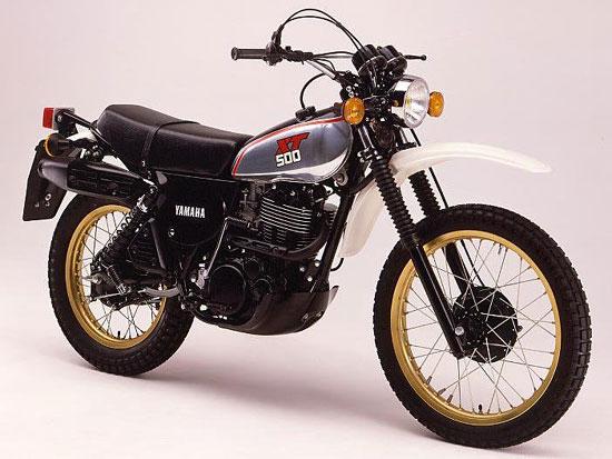 XT-500 Die Urmutter aller Enduros 1976 - 1988