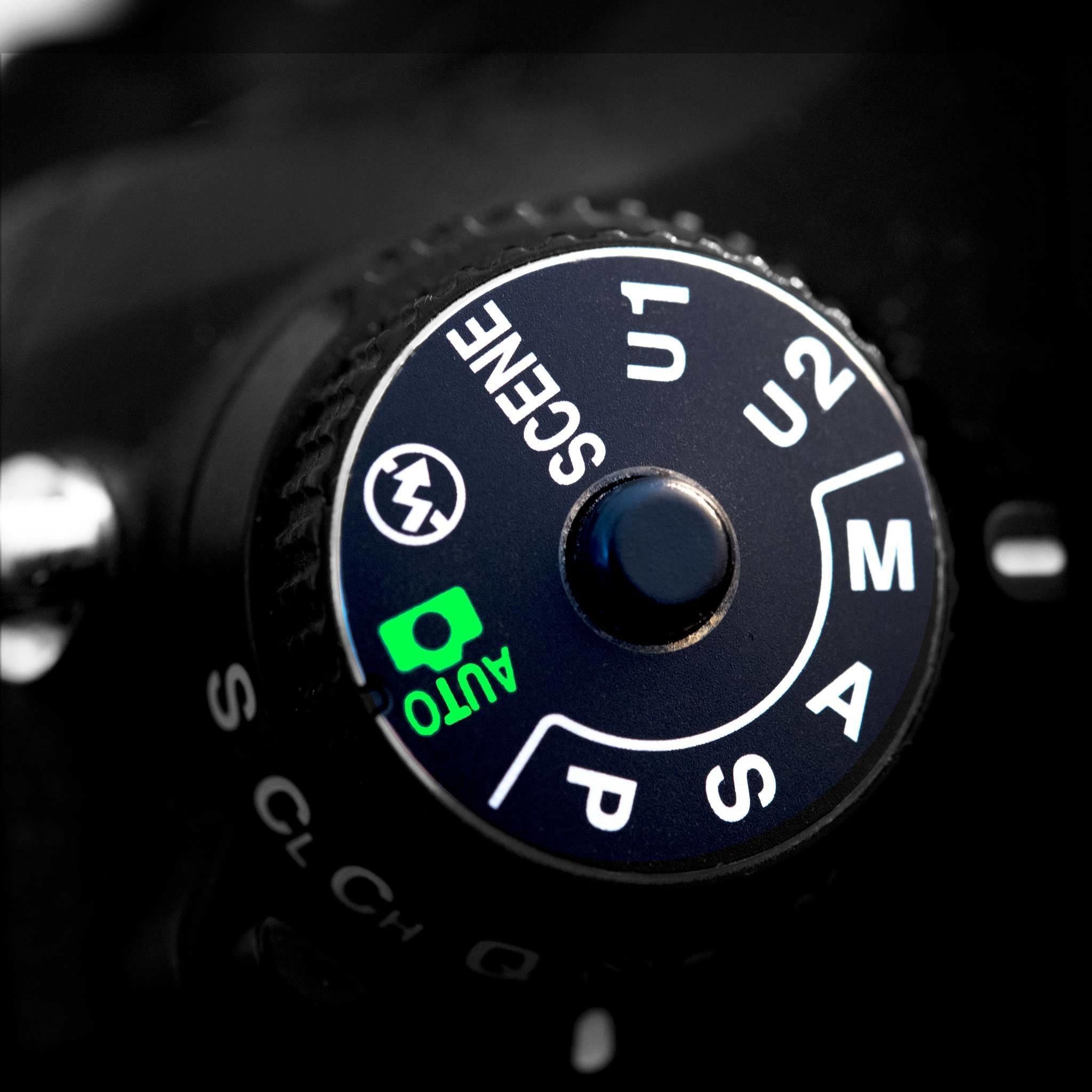 Das kleine Foto 1 x 1 - Kameramodi P, A, S, M (Av, Tv, AUTO, SCENE)
