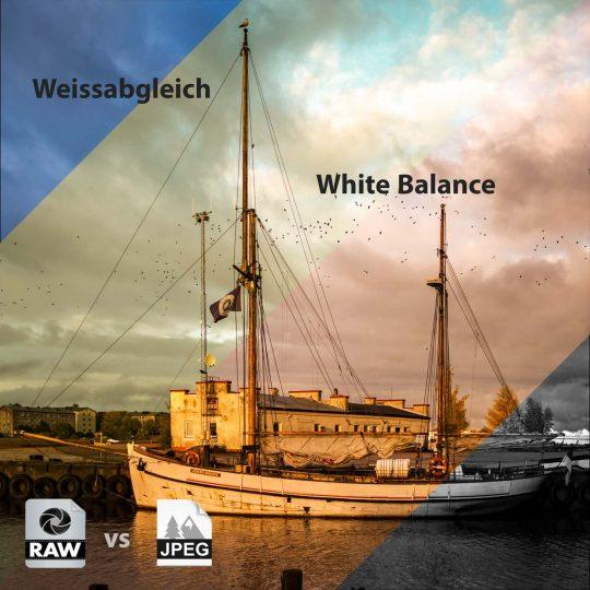 JPEG vs RAW > Weissabgleich