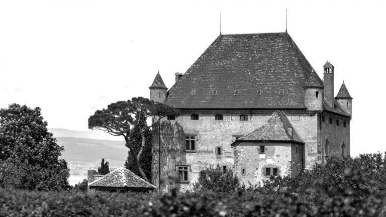 Yvoire liegt am Südufer des Genfersees