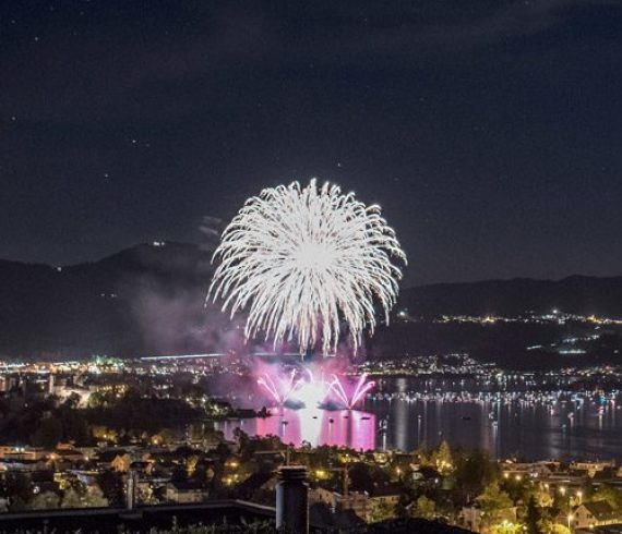 Feuerwerk-Rapperswill