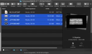 HDR Aufnahme Camera RAW